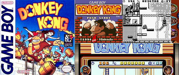 Game Boy : Donkey Kong