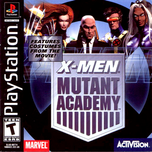 Playstation 1 : X-Men Mutant Academy