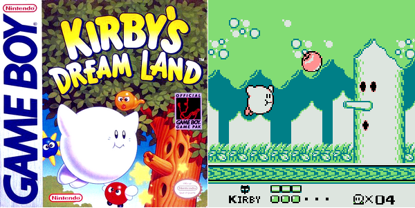 Game Boy : Kirby's Dream Land