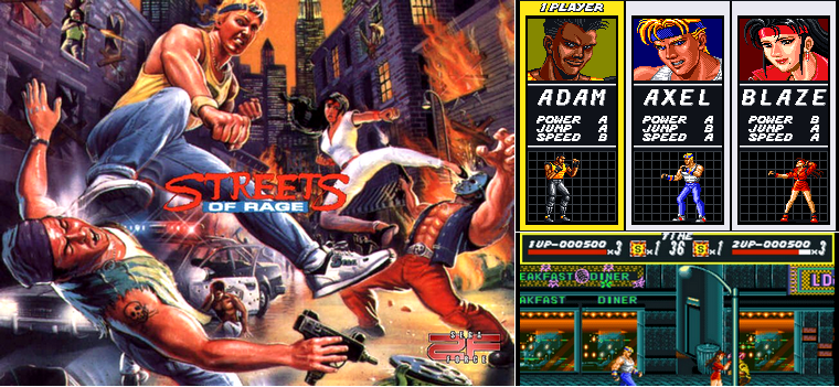 MegaDrive : Streets of Rage