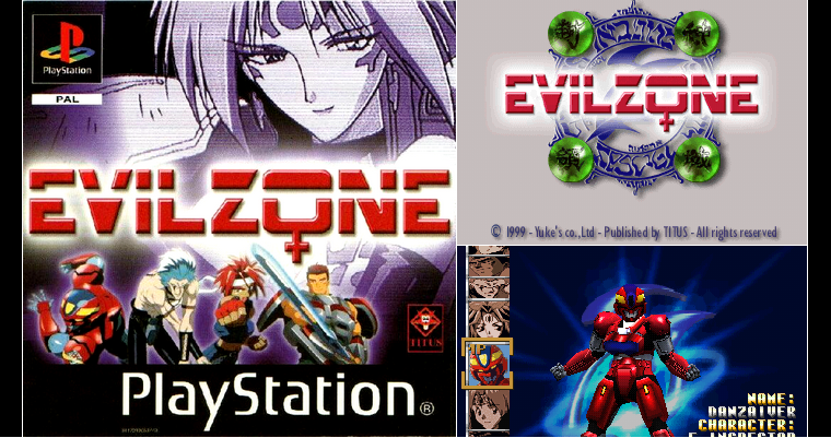Playstation 1 : Evil Zone
