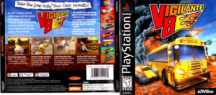 Playstation 1 : Vigilante 8 : Sid Burn