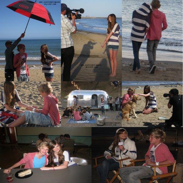 ____ Photos sur le plateau de iYiYi.+ Cody à Popstar  ____