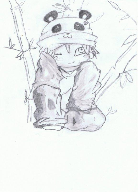 Gaara panda chibi X3