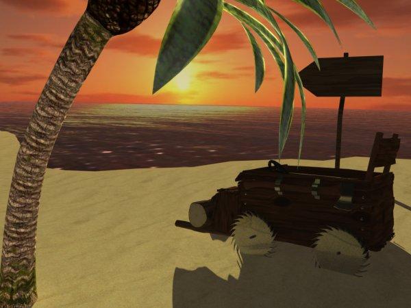 Wacky Mod modélisation 3D sur Maya