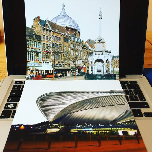 Place du Perron Photomontage / Liège Guillemin Photomontage