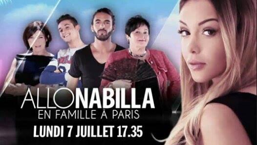 Allo Nabilla : En famille à Paris (inédit)