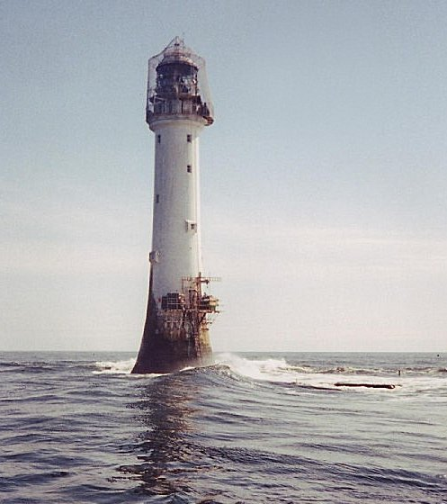 Le phare de Bell Rock (Ecosse)