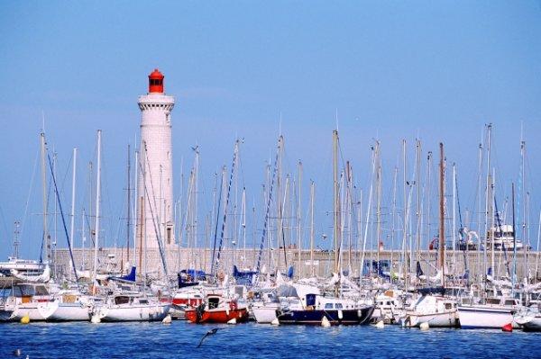 Le phare de Sète (Hérault)
