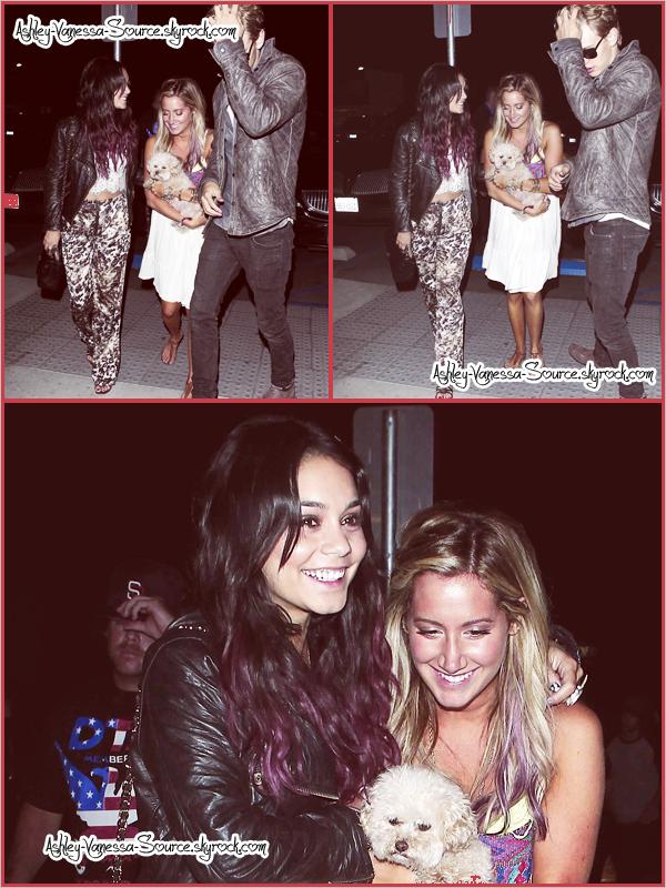 --      ● Ashley & Vanessa vont dîner à un restaurant à l'occasion de l'anniversaire de cette première le  2 Juillet ●       --