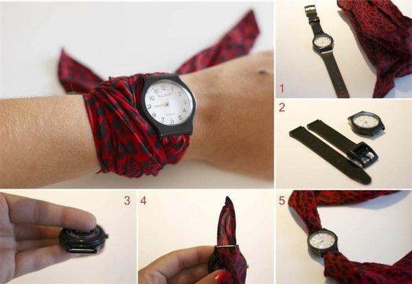Pour ceux qui aiment la mode voila comment customiser des montres et les assortirs a vos tenues les filles