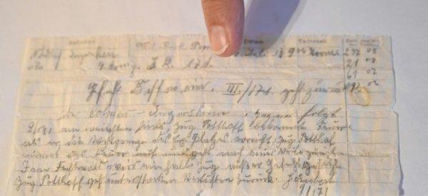 Perdu par un pigeon voyageur il y a 110 ans, un message militaire allemand ressurgit en Alsace