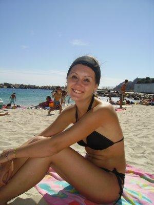 moi a la plage ^^