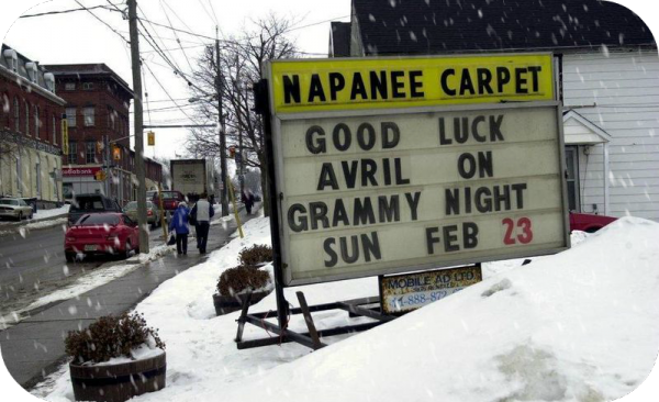 All in a small town, Napanee ♪