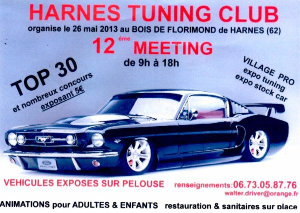 12 eme MEETING HARNES TUNING CLUB