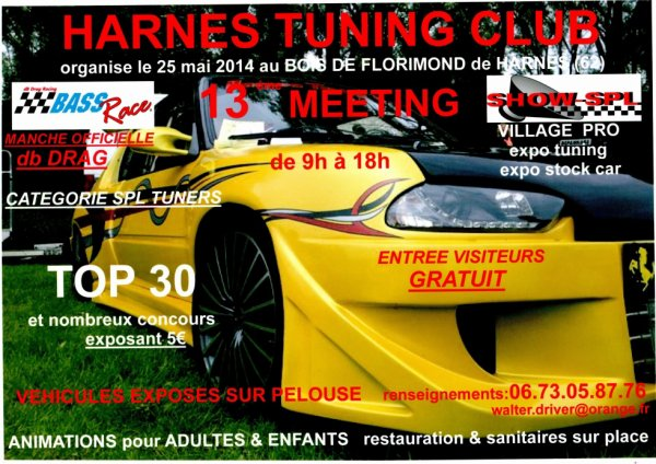 13 eme MEETING HARNES TUNING CLUB
