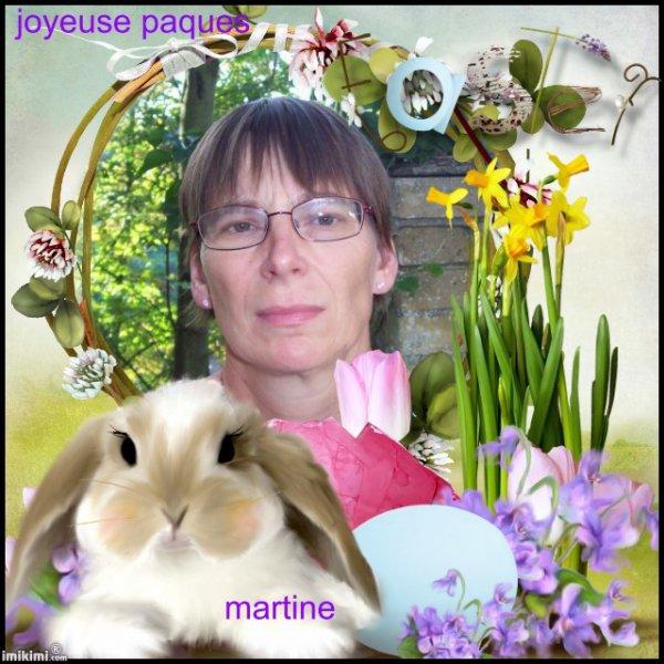 (l) DE MON AMIE SANDRINE   (l) JOYEUSES PAQUES  (l)