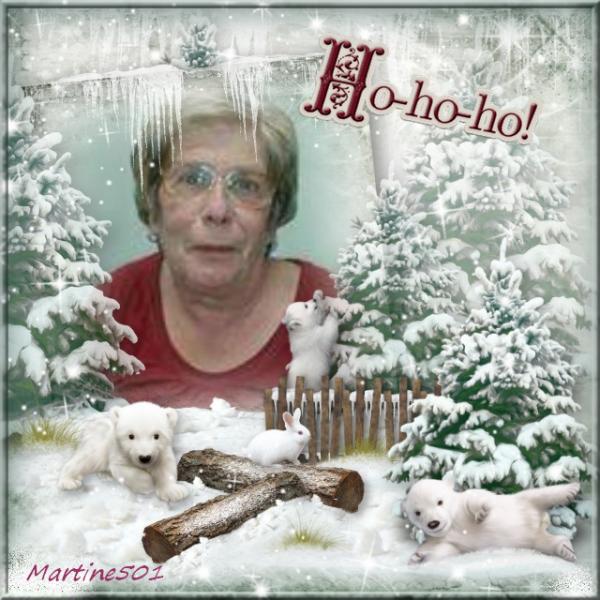 Kdo pour Mamymaty (l)  Joyeux Noel
