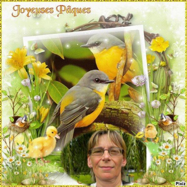 kdo de mon Amie Mariecouch  (l)   Joyeuses Paques