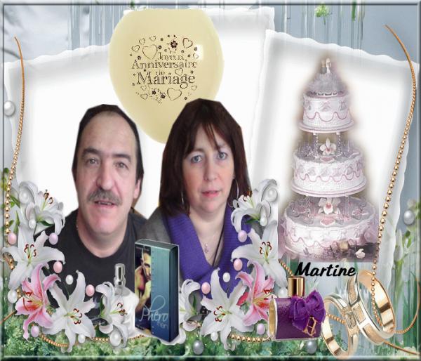 Kdo Pour Mon Amie kdocricri . (l)  Joyeux anniversaire de Mariage  (l)