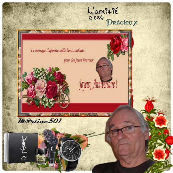 kdo pour mon ami jean - louis69  (l)  (l)   Joyeux anniversaire  (l)  (l)