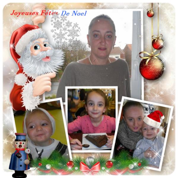 Kdo pour Mon Amie Sandrine  Joyeuses fêtes de Noel