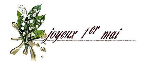 kdo pour Mon Amie Uline -et - Maéva . Joyeux 1er Mai