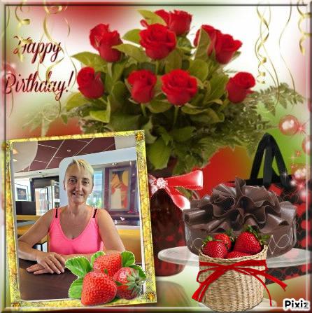 Joyeux Anniversaire Sandrine  $)