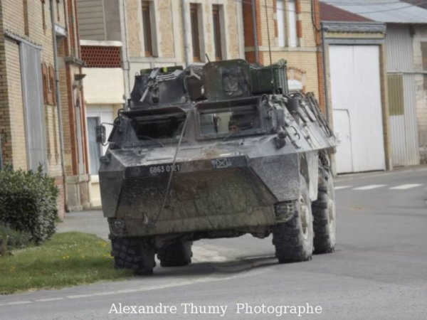 AMX 10 rc - VAB - troupes felin - VBCI en terrain civil