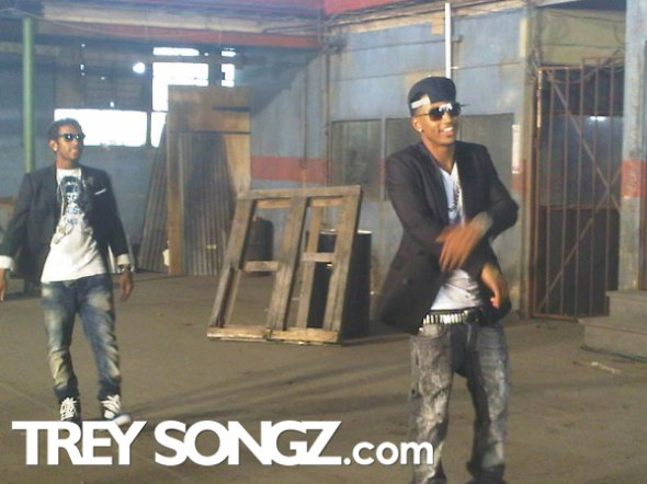 "Lloyd ""Be the One"" ft. Trey Songz Video Shoot"
