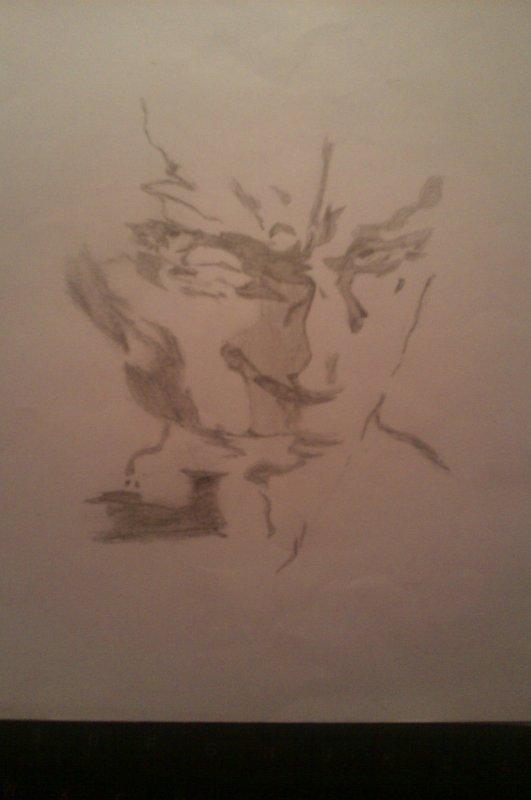 Voici un de mes fan arts de Metal Gear Solid