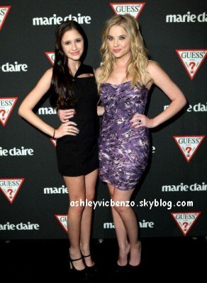"♦ GUESS & Marie Claire dinner in support of ""Save The Children"""