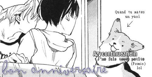 Article spécial 18 ans de SomeFun ! ~ SIX FICHES YAOI / HORREUR !