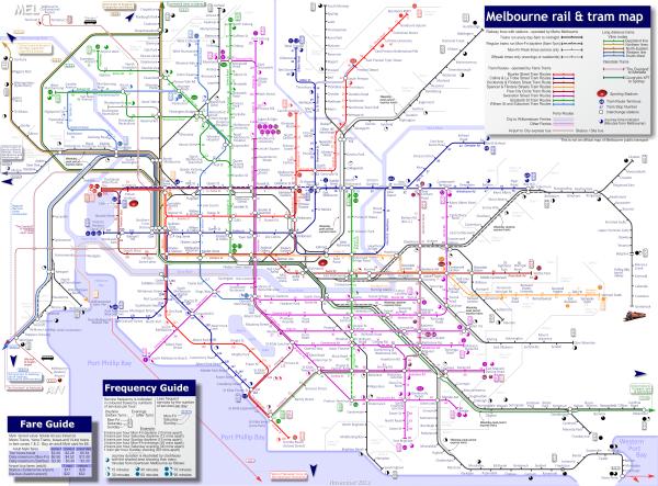 Plan du Tramway