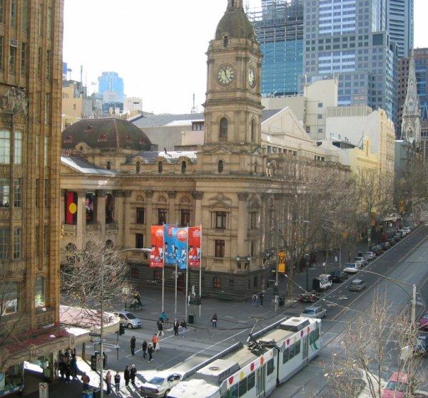 L'Hotel de ville de Melbourne