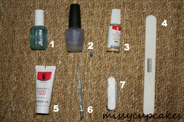 revue n°1: le soin des ongles INDISPENSABLE!!!!