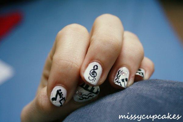 Nail Art Musique