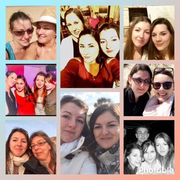 la famille, les amis