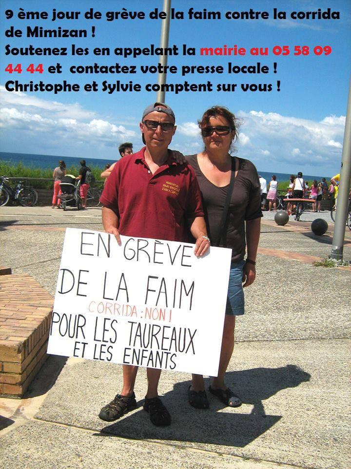 Christophe Leprêtre en grève de la faim pour les taureaux