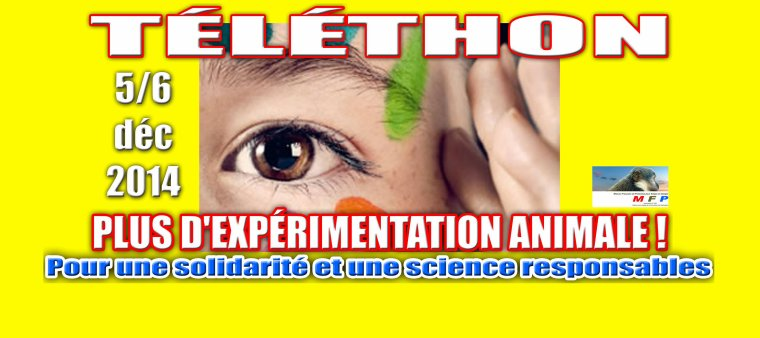 """Boycott du """"Téléthon"""" 2014 - 5 et 6 décembre"""