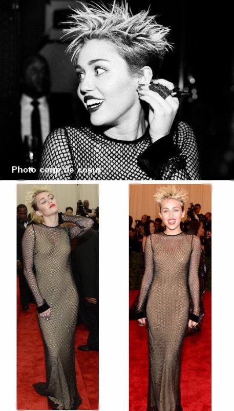 06.05.2013 Miley était présente au fameux Met Gala 2013