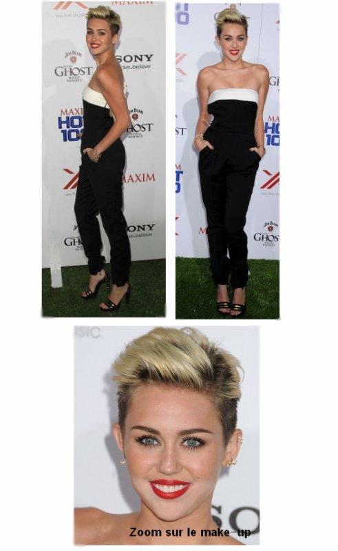 15.05.2013 Miley était présente à la soirée organisée par le magazine Maxim