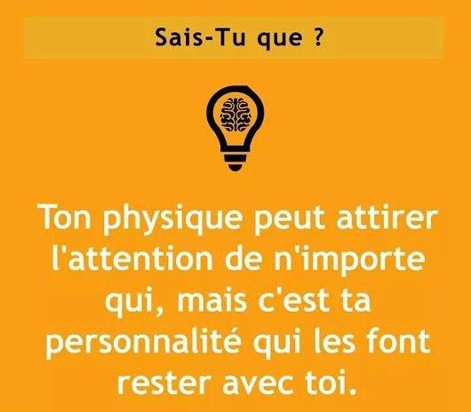 d ou le physique ne fait pas tout !!!!!!!!!!!!