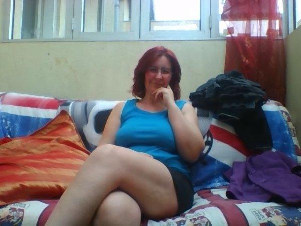 moi au 26 decembre avec mes cheveux rouge yeahhhh