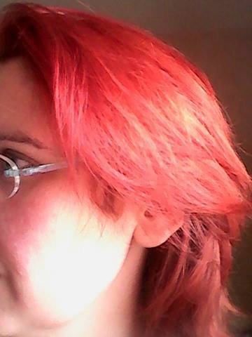 Bon bah voila la couleur de cheveux que j ai actuellement au 24 janvier 2017  beaucoup me le demande donc voili voilou !!!!!!