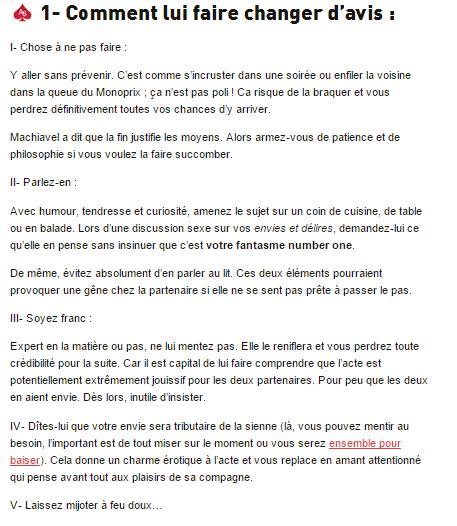 sodomie .....PETITE LECON POUR CERTAINES ET CERTAINS PETITS RAPPELS POUR D AUTRES !!!!! PARTIE 2