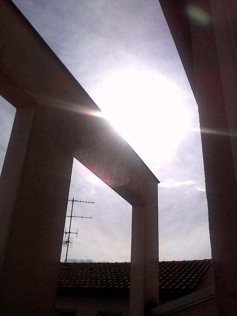Ici beau soleil temps de printemps