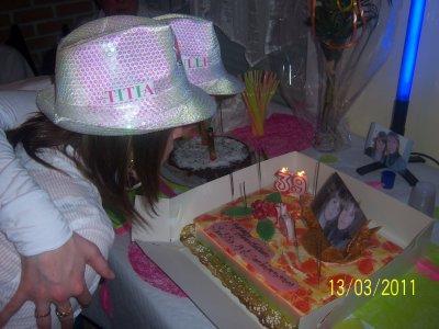 anniversaire a ma soeur et titia