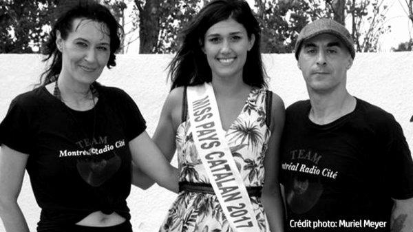Miss Pays Catalan nous fait l'honneur d'une pause sur scène!