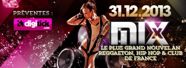 Nouvel An 2014 au Mix Club (Paris)